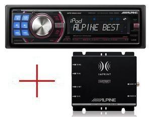 Alpine CDA-105Ri + procesor dźwięku PXA-H100