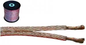 Kabel głośnikowy OFC 2 x 0,5 mm