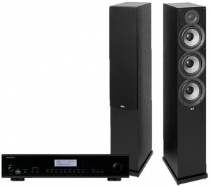 Rotel A12 + Elac Debut 2.0 F6.2