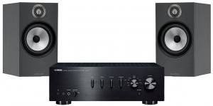 Yamaha A-S501 + B&W 606