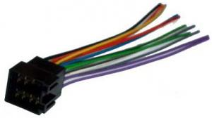 ISO Gniazdo głośnikowe i zasilające (zespolone) ZLA0420