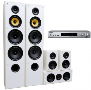 Pioneer VSX-S520D + Taga Harmony TAV-606 v.3 White