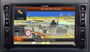 Alpine X800D-V447 - Mercedes Vito