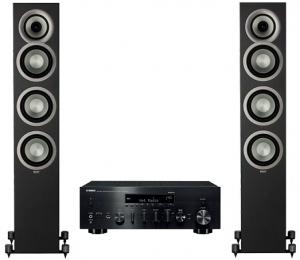 Yamaha R-N803D + Elac Uni-Fi FS U5