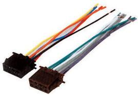 ISO Wtyk głośnikowy i zasilający (luz) ZLA0408