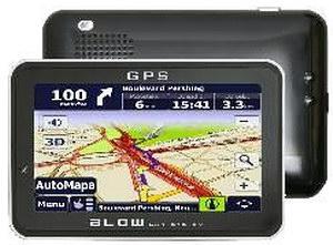 BLOW GPS50iBT Czarna - AutoMapa PL