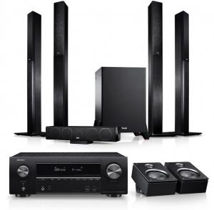 Teufel LT 4 Surround AVR Dolby Atmos Set L
