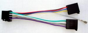 ISO Wtyk-Gniazdo Głośnikowy-Zasilający ZLA0410