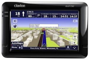 Clarion MAP790AM - AutoMapa XL