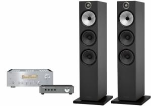 Yamaha A-S1100 + WXC-50 + B&W 603