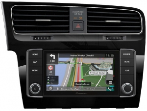 Pioneer AVIC-EVO1-G72-QYI - VW Golf VII - Piano Black