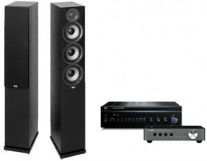 NAD C356BEE + Yamaha WXC-50 + Elac Debut 2.0 F5.2