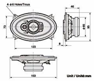 Pioneer TS-A4633i