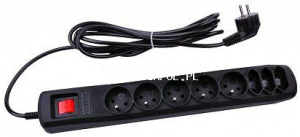 Filtr zasilający ARC-8 5,0m czarny URZ3047