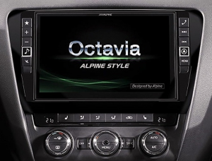 Alpine X901D-OC3 - Skoda Octavia 3