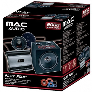 Mac Audio Flat Four Package